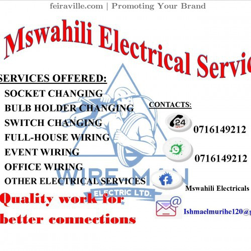 Mswahili electrical service